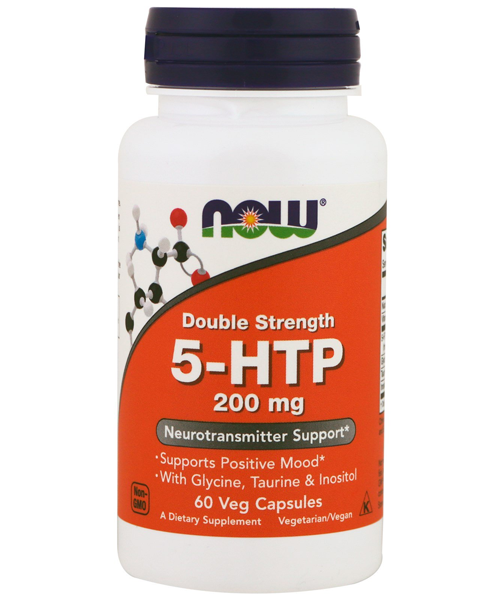 5-htp 200 mg NOW 60 капс.