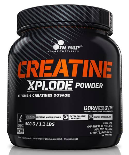 Creatine Xplode Olimp Sport Nutrition 500 гр.
