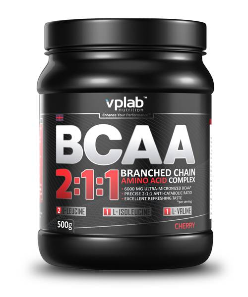 Bcaa 2:1:1 VP Laboratory 500 г