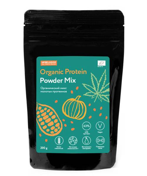 Organic Mix Protein 4in1 Ufeelgood 200 гр.