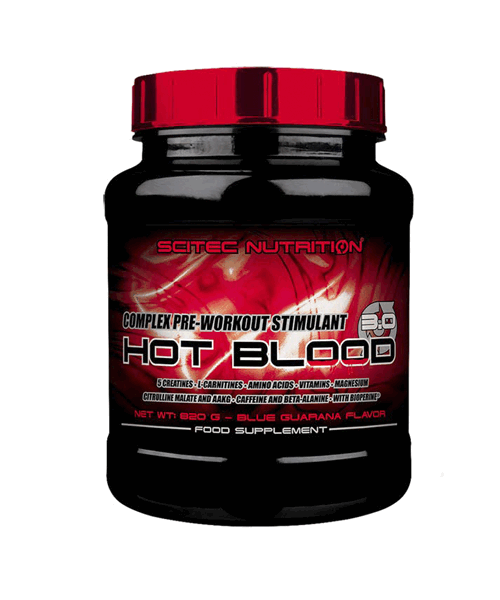 Hot Blood 3.0 Scitec Nutrition 820 гр.