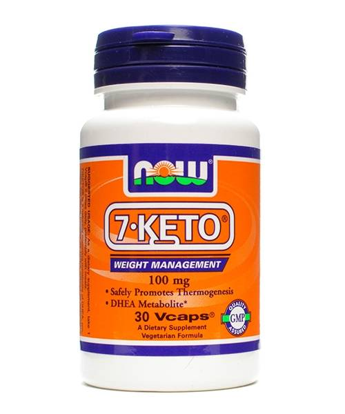 7-keto 100 mg NOW 30 капс.