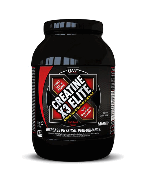 Creatine X3 Elite QNT 1000 г