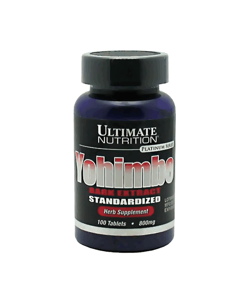Yohimbe Bark Extract Ultimate Nutrition