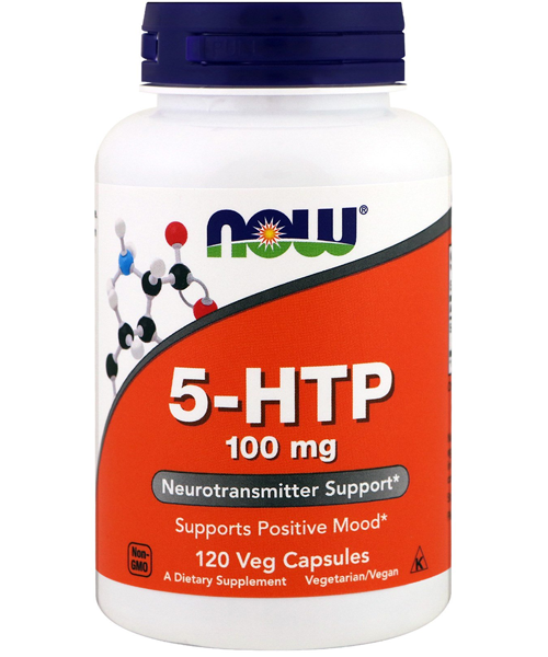 5-htp 100 mg NOW 120 капс.