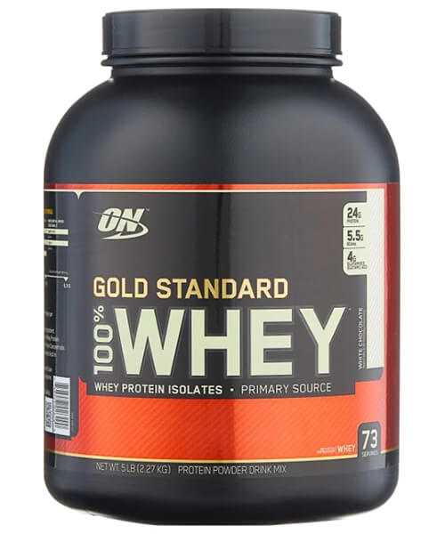 100% Whey Gold Standard Optimum Nutrition 2270 г