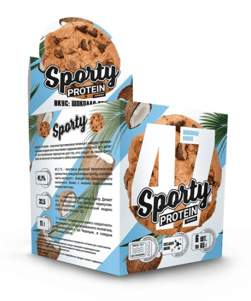 Protein Cookie Sporty 60 г