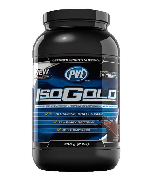 ISO Gold PVL Sports Nutrition 908 гр.