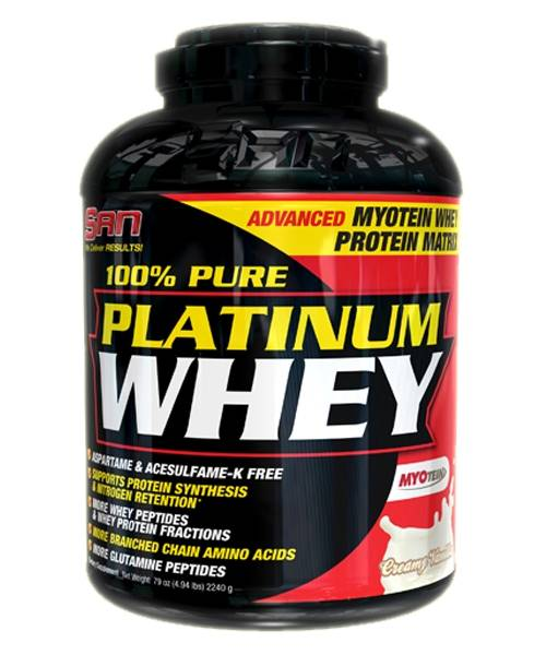 100% Pure Platinum Whey SAN 2268 г