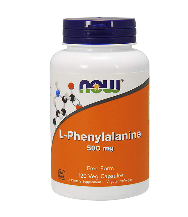 L-phenylalanine 500 mg NOW