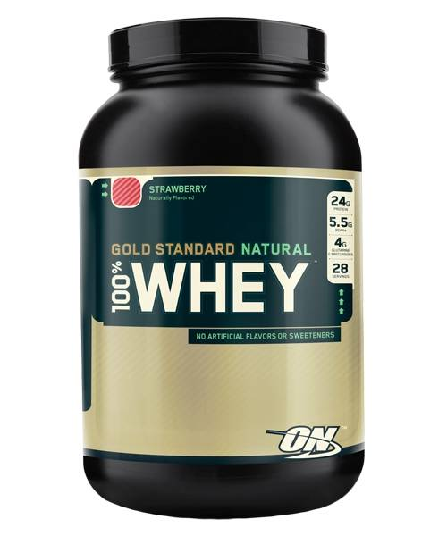 100% Whey Gold Standard Natural Optimum Nutrition 907 гр.