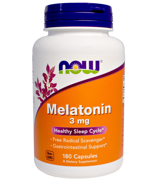 Melatonin 3 mg NOW 180 капс.
