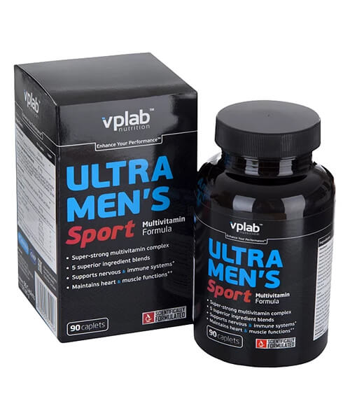 Ultra Men's Multivitamin Formula VP Laboratory 90 капс.