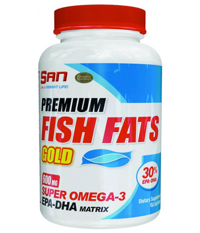 Fish Fats Gold SAN 60 капс.