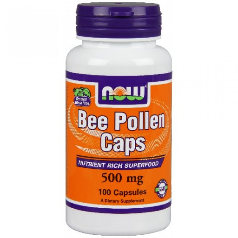 Bee Pollen 500 mg NOW
