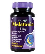 Melatonin 3 mg Natrol 120 таб.