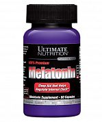 Melatonin 3mg Ultimate Nutrition 60